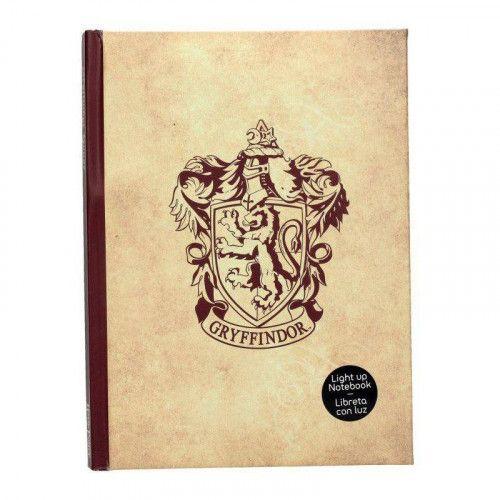 Zápisník Harry Potter - Nebelvír, svítící