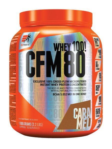 Extrifit CFM Instant Whey 80 1000 g jahoda