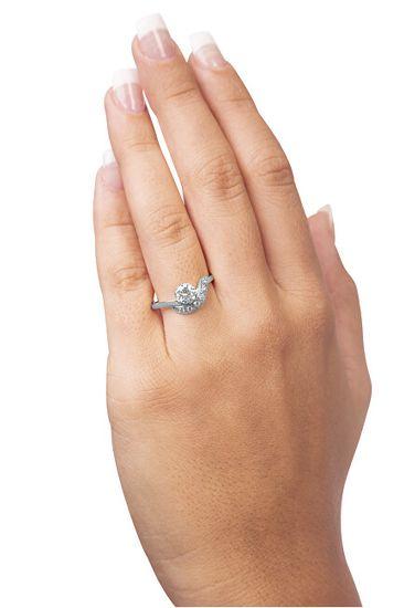 Brilio Silver Ezüst eljegyzési gyűrű 426 001 00534 04 ezüst 925/1000