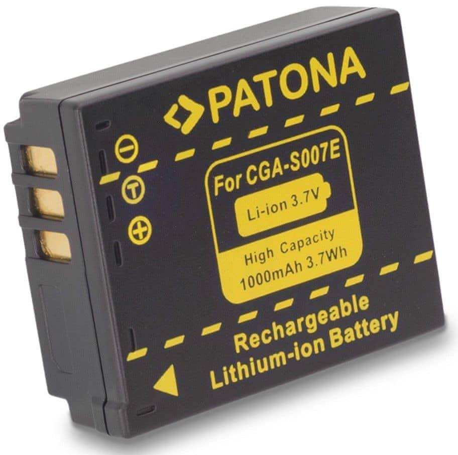 PATONA Baterie pro foto Panasonic CGA-S007E Li-Ion 3.6V 1000mAh (PT1043)
