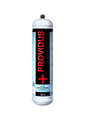 Providus PROVIDUS, Kyslíková kartuša 110 bar, UN 1072, závit 12x1, 950ml