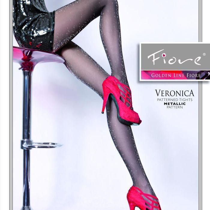 Fiore Dámské punčochové kalhoty Veronica 20 den - Fiore černá 2