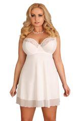 Lupoline Bílá noční košilka 107 - LUPOLINE bílá 70G