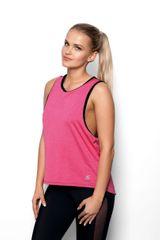 Eldar Dámská košilka (nátělník) ABEL FIT růžová/černá XL
