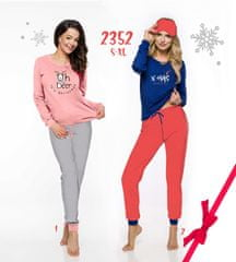 TARO Dámské pyžamo 2352 (CHRISTMAS) ZIMA S-XL 2 XL