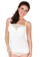 Parfait Dámská košilka Parfait 7406 Sophia bílá perla 34 D Bílá perla 75 H Bílá perla