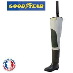 Goodyear Holinky Hip Waders Cuissarde Sport|vel.45