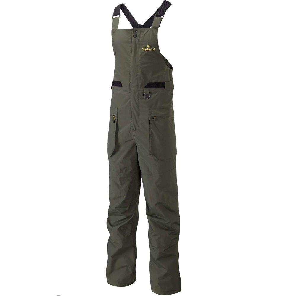 Wychwood kalhoty Bib and Brace zelené velikost: XL