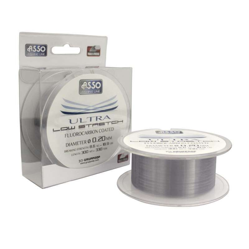 Asso Vlasec Ultra Low Stretch 300m Průměr: 0,28 mm