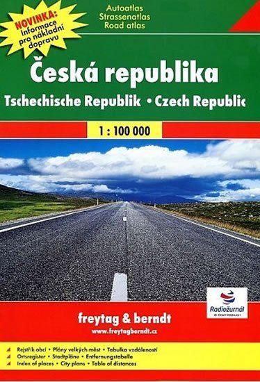 Autoatlas ČR 1:100000
