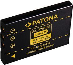 PATONA Baterie pro foto Fuji NP-60 1050mAh (PT1015)