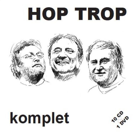 Hop Trop: Komplet (10x CD + DVD) - CD+DVD
