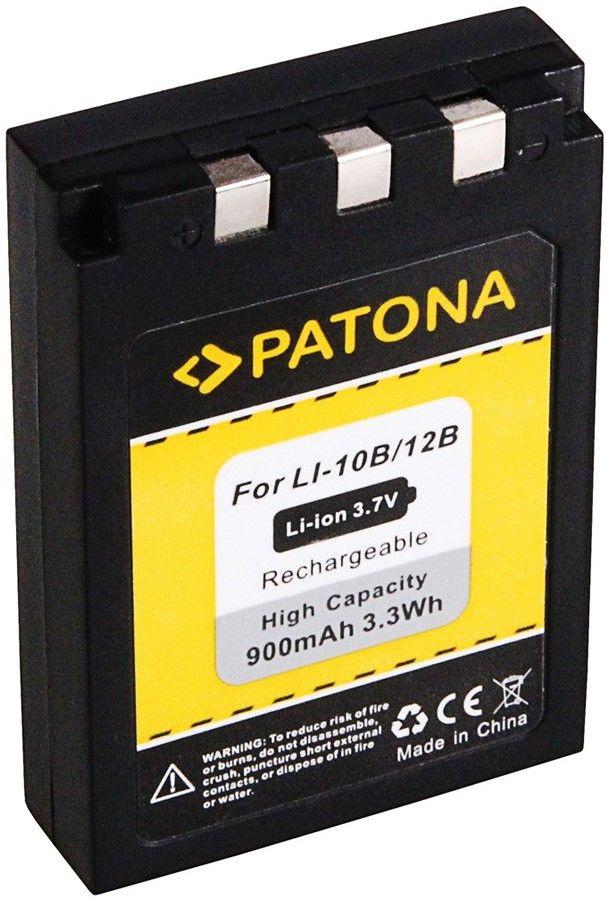 PATONA Baterie pro foto Olympus Li-12B / Li-10B 900mAh (PORB4056)