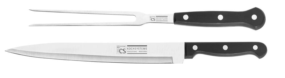 CS Solingen Nůž porcovací se servírovací vidličkou STAR