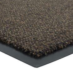FLOMA Tmavě hnědá vnitřní čistící vstupní rohož Portal (Cfl-S1) - délka 60 cm, šířka 90 cm a výška 0,75 cm