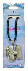 Diddl & Friends Náhrdelník abeceda Diddl, Náhrdelník abeceda, Diddl - H