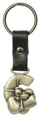 Diddl & Friends Kovinske črke za ključe Diddl, Obesek C
