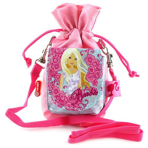 Barbie Torbica za mobilnike , roza, z motivom lutke