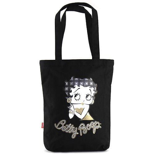 Betty Boop Nákupná taška , čierna