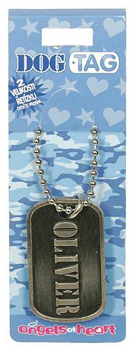 Angels at Heart Dog Tag jméno, Oliver, 021108
