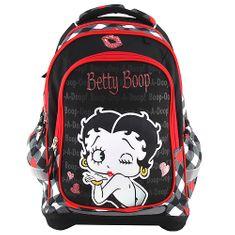 Betty Boop Školský plecniak Target, Bábika /farebné kocky