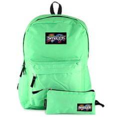 Smash Razbiti študentski nahrbtnik, zelena