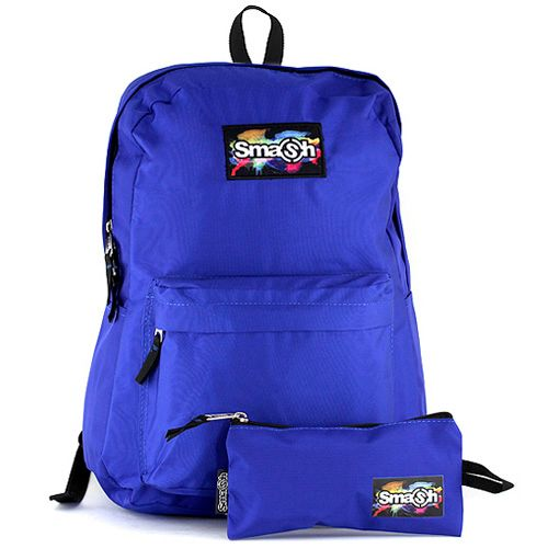 Smash Razbiti študentski nahrbtnik, modro
