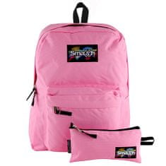 Smash Razbiti študentski nahrbtnik, svetlo roza