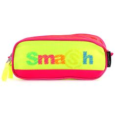 Smash Šolska škatla za svinčnike brez polnila, roza / neon rumena