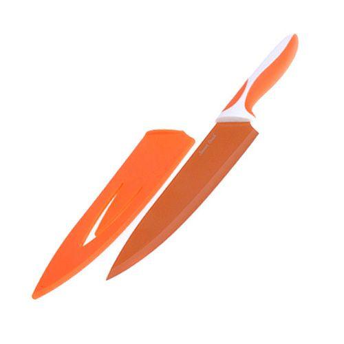Smart Cook Kuchynský nôž - čepeľ 20cm, ocel/keramika oranžová