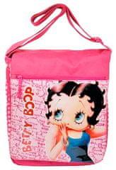 Betty Boop Taška cez plece XL pink, ružová