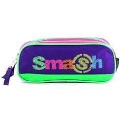 Smash Šolska škatla za svinčnike brez polnila, roza / vijolična