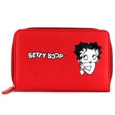 Betty Boop Peňaženka , červená s motívom bábiky