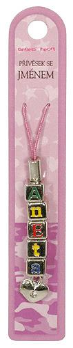 Angels at Heart Zawieszka z imieniem, Aneta