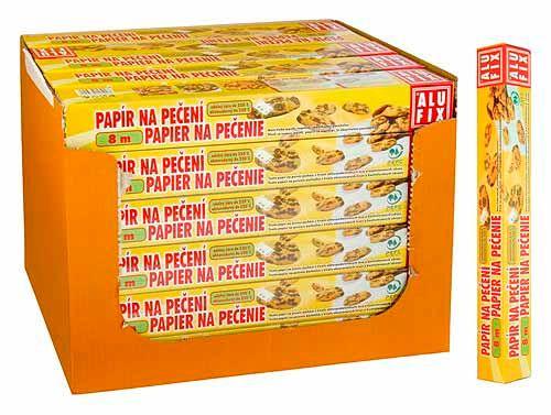 Bobo Papír na pečení Alufix 8m, Papír na pečení Alufix 8m, 38cm v krabičce