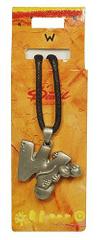 Diddl & Friends Naszyjnik alfabet Diddl, Diddl - W, 016698