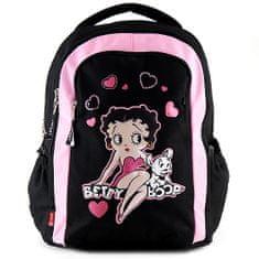 Betty Boop Školský plecniak , čierno-ružový