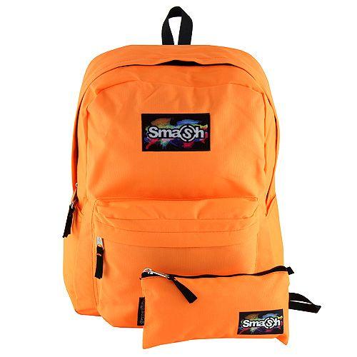 Smash Razbiti študentski nahrbtnik, neon oranžna