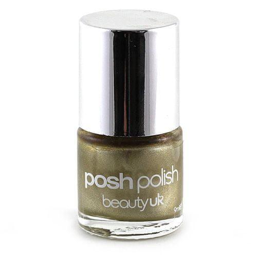 Beauty UK Körömlakk, gold foil, 9 ml