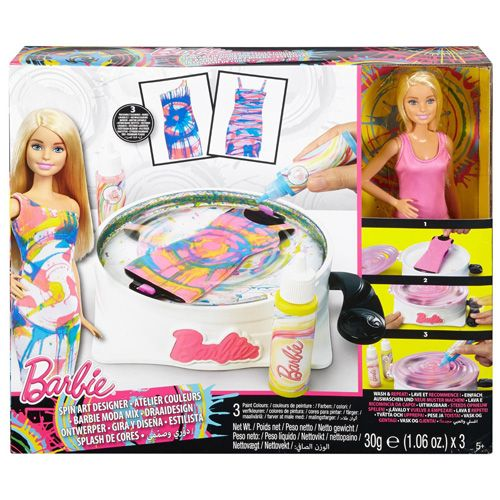 Mattel Barbie panenka , Spirálové návrhářství