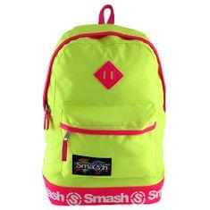 Smash Razbiti študentski nahrbtnik, neonsko rumena
