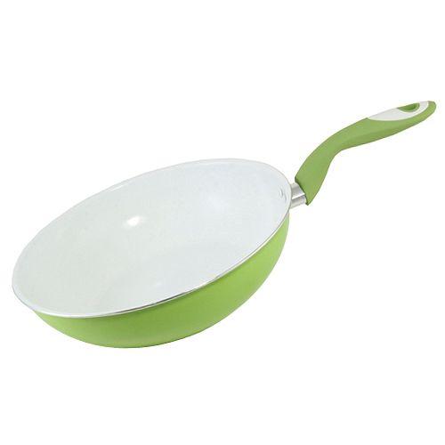 Smart Cook Pánev , keramická zeleno-bílá