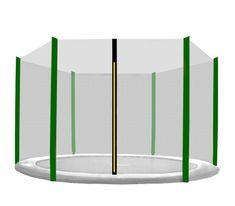 Aga varnostna mreža 180 cm za 6 palic Black net / Dark Green