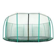 Aga Siatka do trampoliny 488 cm 16ft wewnętrzna na 12 słupków Dark Green (ring)