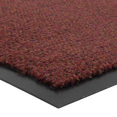 FLOMA Červená vnitřní čistící vstupní rohož Portal (Cfl-S1) - délka 60 cm, šířka 90 cm a výška 0,75 cm