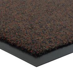 FLOMA Vínová vnitřní čistící vstupní rohož Portal (Cfl-S1) - délka 60 cm, šířka 90 cm a výška 0,75 cm