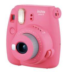 FujiFilm Instax Mini 9 Flamingo Pink Led Bundle