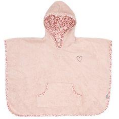 Bebe-jou ponczo frotte Leopard Pink