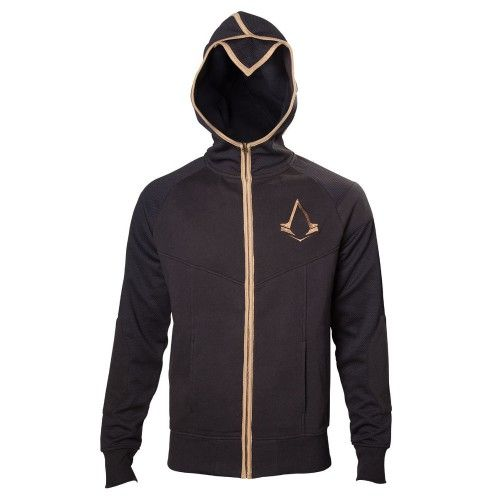 Mikina Assassins Creed Syndicate - Bronzové logo (velikost: xl)