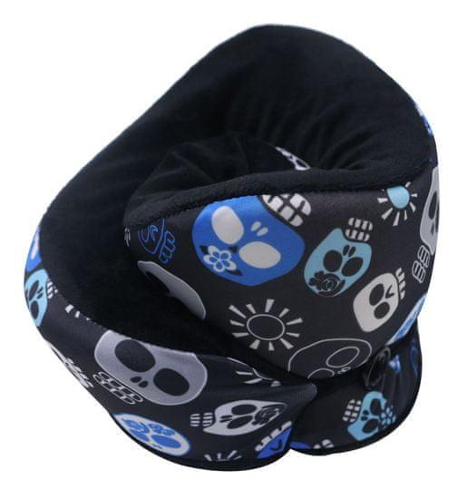 Mia Toro poduszka podróżna MA-033 - Sugar Skulls